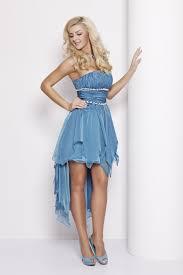 Abendkleid Cocktailkleid Abiball Kleid vorne kurz hinten lang ...