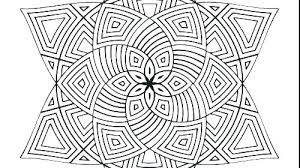 Complex Geometric Coloring Pages Geometric Coloring Pages Free