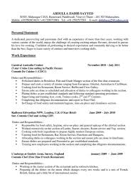 Template Executive Chef Resume Template And Head Rimousko Executive