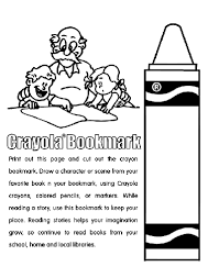 Small Picture crayon bookmark crayon bookmark coloring page crayola crayons box