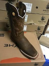 Reyme Boots Size Chart Mens Reyme Western Boots 10 5 D Good Pre 0wned