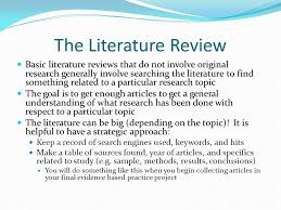 Apa Format Literature Review Sample Academic Writing Services From