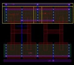 fig 2 2 input nand gate layout ic layout designer