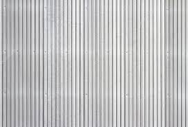corrugated metal siding stock photo