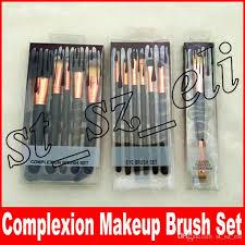 makeup plexion brush set eye brush set dual ended foundation concealer makeup tools dhl free plexion brush brush set makeup brush with