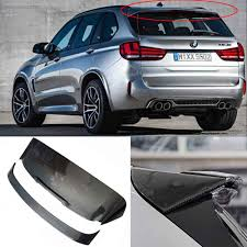 Fiber Rear Roof Spoiler For BMW F15 X5 F85 X5M HAMANN 2014 2016-in ...
