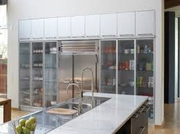 kitchen trend glass cabinets