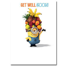 Get Well Soon Minions Card