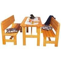<b>Комплект мебели</b> ФОТОН Берген (стол, 2 скамьи) — купить по ...