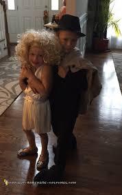 kids couple costume marilyn monroe and frank sinatra