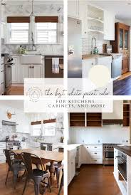 white paint color for kitchens