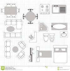 furniture floor plans. floor plan with furniture stock photo plans dreamstimecom