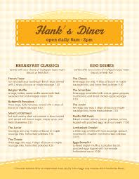 Easy Breakfast Menu Templates From Real Designers