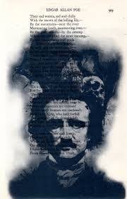repurposed book page from an anthology of famous poetry featuring edgar allan poe 2 get 3rd free by simpleesaid on etsy