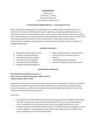 Free Business Analyst Resume Template Examples Ms Word Samples Doc