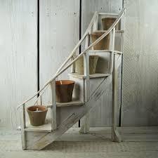 Wooden Ladder Display Stand Custom Wooden Display Stands Rustic Rentals