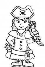 Small Picture Girl Pirate Coloring Page Coloring Home