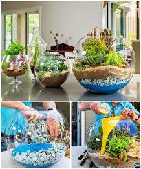 diy mini glass bowl terrarium diy mini fairy terrarium garden ideas indoor mini garden