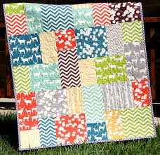 Big Block Quilt Patterns Stunning Big Block Quilt Pattern Big And Tall Fat Quarter Friendly Throw