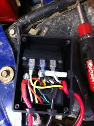 winch wiring kit harbor freight winch image wiring went to harbor freight today honda atv forum on winch wiring kit harbor freight