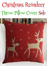 christmas pillows on sale. Beautiful Pillows Christmas Reindeer Throw Pillow Cover Sale 364  FREE Shipping With Pillows On Sale Pinterest