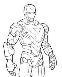 Small Picture Iron Man Mark 6 Coloring Page NetArt