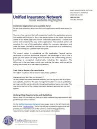 Unified Insurance Network Pdf