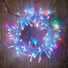 B And Q Christmas Lights 120 Colour Changing Led String Lights