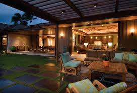 tropical outdoor lighting. artificial grass interior design patio tropical with sliding wall outdoor lighting