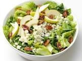 bleu cheese and pear salad