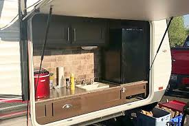 2016 forest river stealth boulder city nv outdoor kitchen with propane grill sink