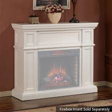 artesian electric fireplace mantel only in white 28wm426 t401