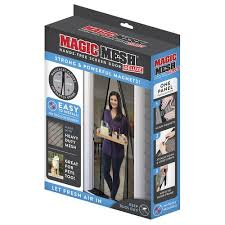 magic mesh deluxe magnetic 39 x 83 screen door