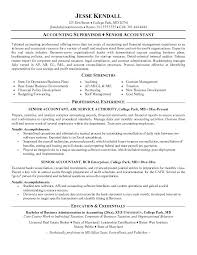 Accounting Resume Samples Airexpresscarrier Com