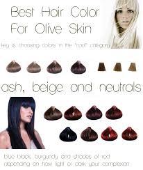 Hair Color Olive Skin Ash Beige