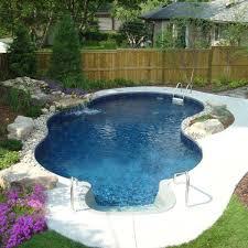 backyard pool designs for small yards. small-backyard-pool-woohome-15 backyard pool designs for small yards