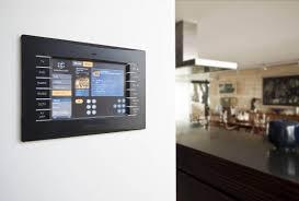 Crestron Lighting Control Panel Manchester Penthouse Crestron Audio Video Installation