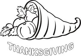 thanksgiving coloring pages easy