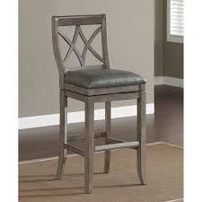 gray counter stools. 33 Most Tremendous Gray Leather Padded Counter Stool Seater Using Brownish Varnished Teak Wood Frame Placed On The Brown Rug Stools Height Bar With Backs I
