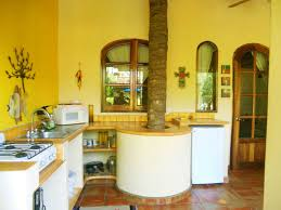 Yellow Wall Kitchen Yellow Kitchens Home Design Ideas