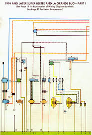 1978 vw bug fuel injected easy to read wire diagram vw wiring diagrams free downloads at 74 Vw Bug Wiring Diagram