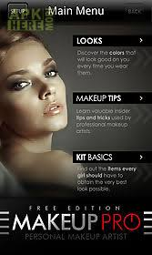 makeup pro app for android description want to learn which makeup colors are most plimentary for you and your coloring harness the knowledge of