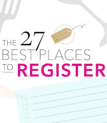 top places to register for wedding. Wonderful Top Where To Register The 50 Best Wedding Registry Sites U0026 Stores On Top Places To Register For E