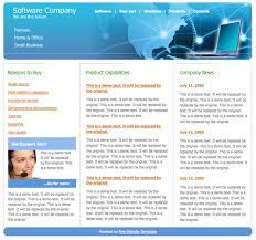 web template design software. Software web design template Free Website Templates