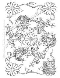 Small Picture Frog adult colouring page Colouring In Sheets Art Craft