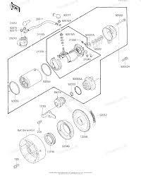 Kawasaki atv 1987 oem parts diagram for starter motor starter rh partzilla kawasaki 300 4x4