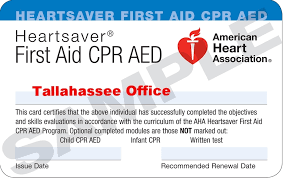 tee american heart ociation cpr aed and first aid cl