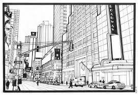 Coloriage Ville New York
