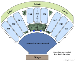Concord Pavilion Seating Chart With Rows 68 Proper Concord Seating Chart