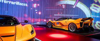 Vídeo #02 | detonador jogos. Exposicao Da Ferrari Permite Que Publico Conheca De Perto Carros Luxuosos